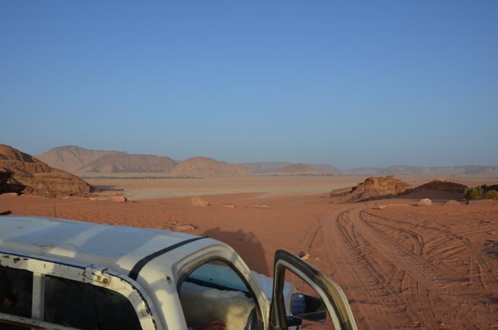 Jeep Safari im Wadi Rum Jordanien