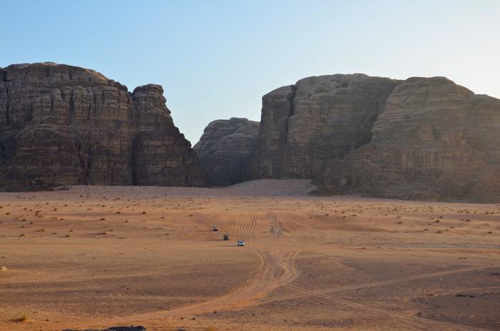 Ausblick auf Wadi Rum Jordanien