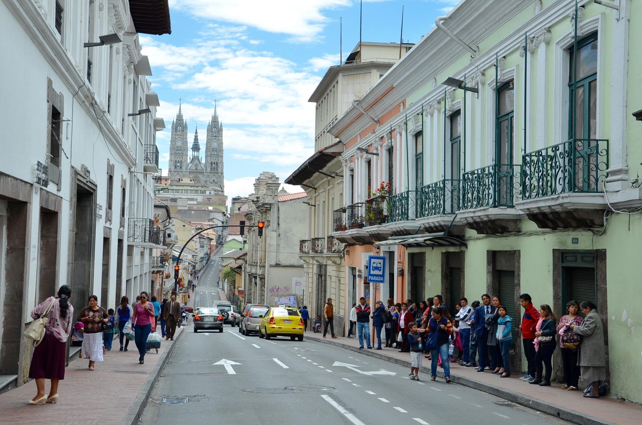 Centro Historico Old Town Quito
