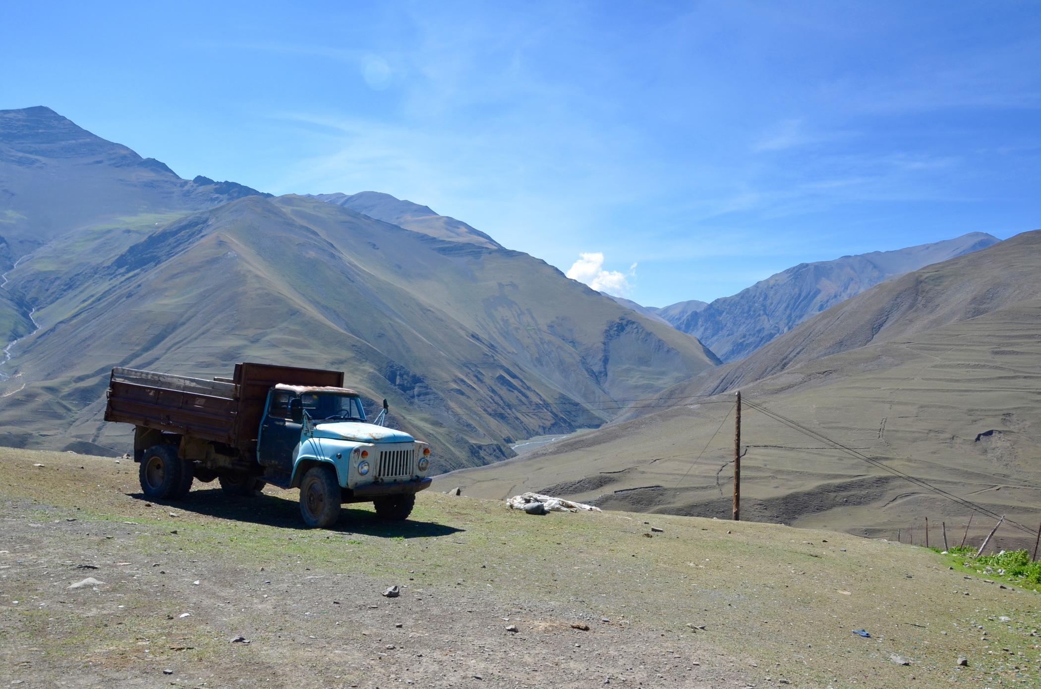 Liebeserklärung Ode an die Natur wie im Kaukasus