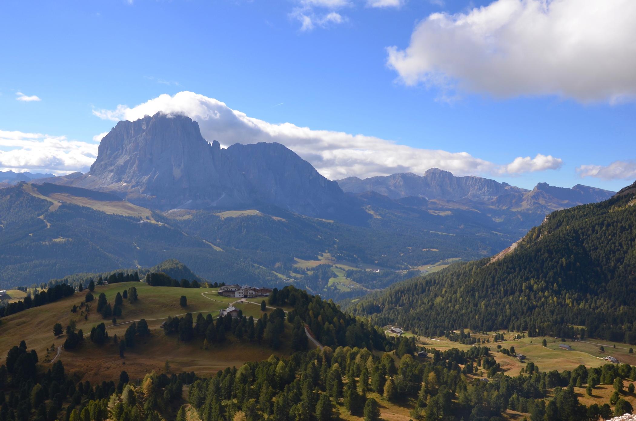 Die Dolomiten sind eine der Unesco Welterbestätten