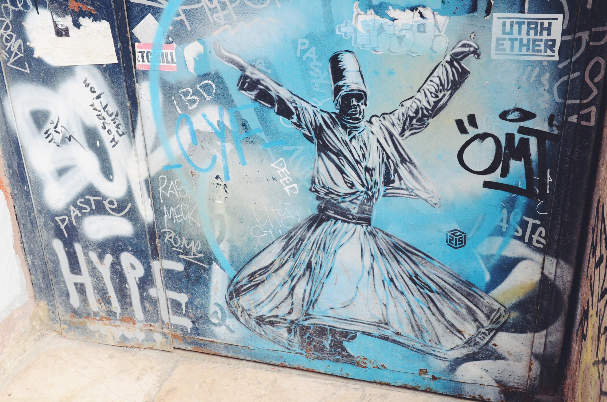 Derwisch Street Art Istanbul