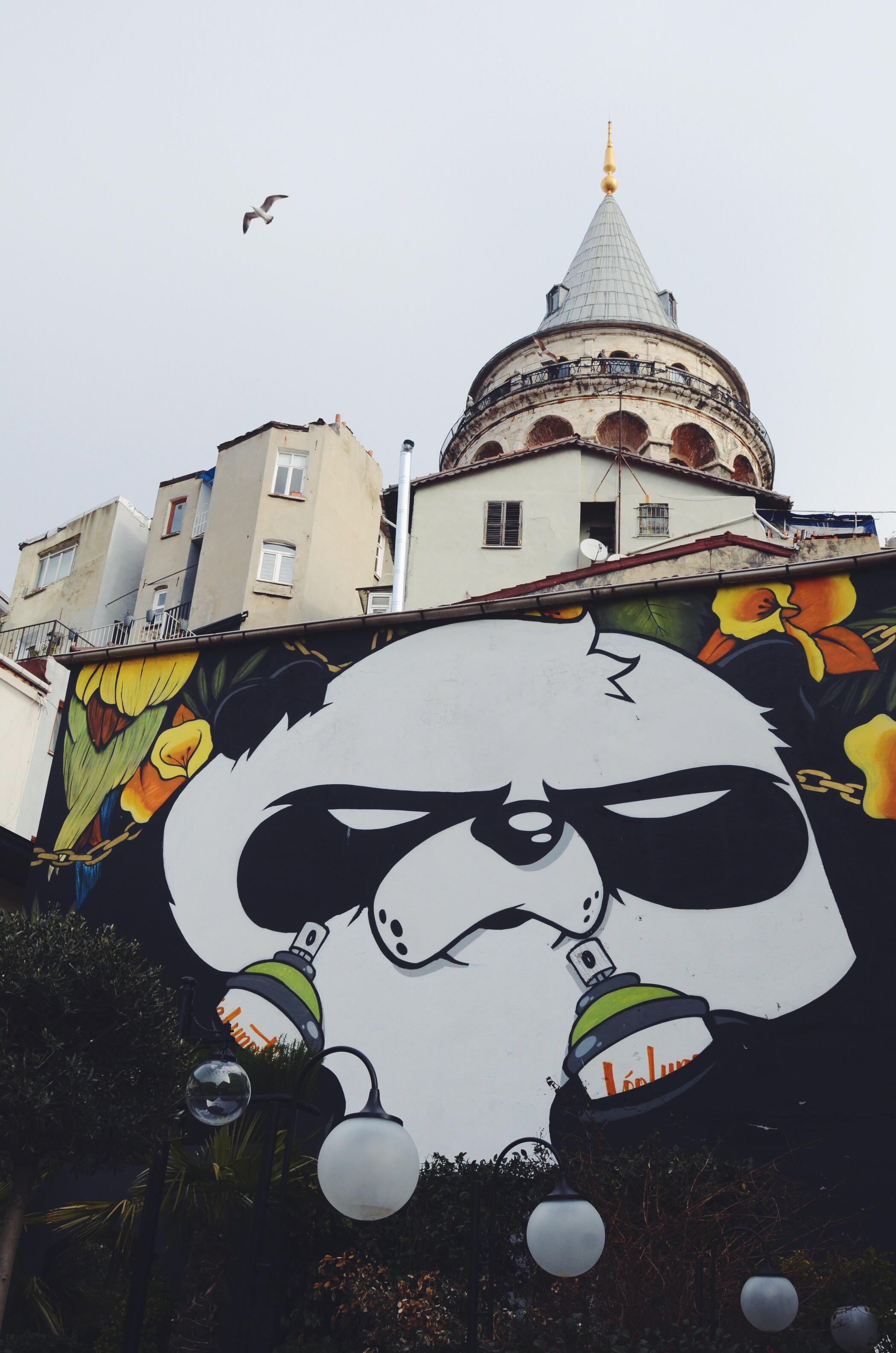 Street Art Istanbul Galataturm