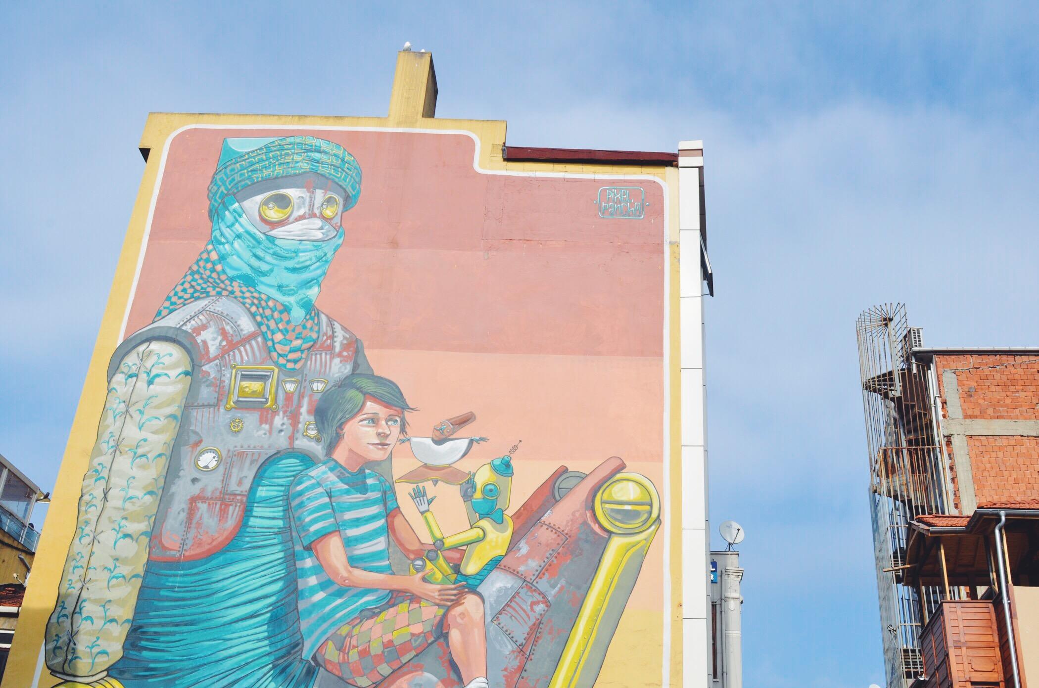 Street Art Istanbul von Pixel Pancho
