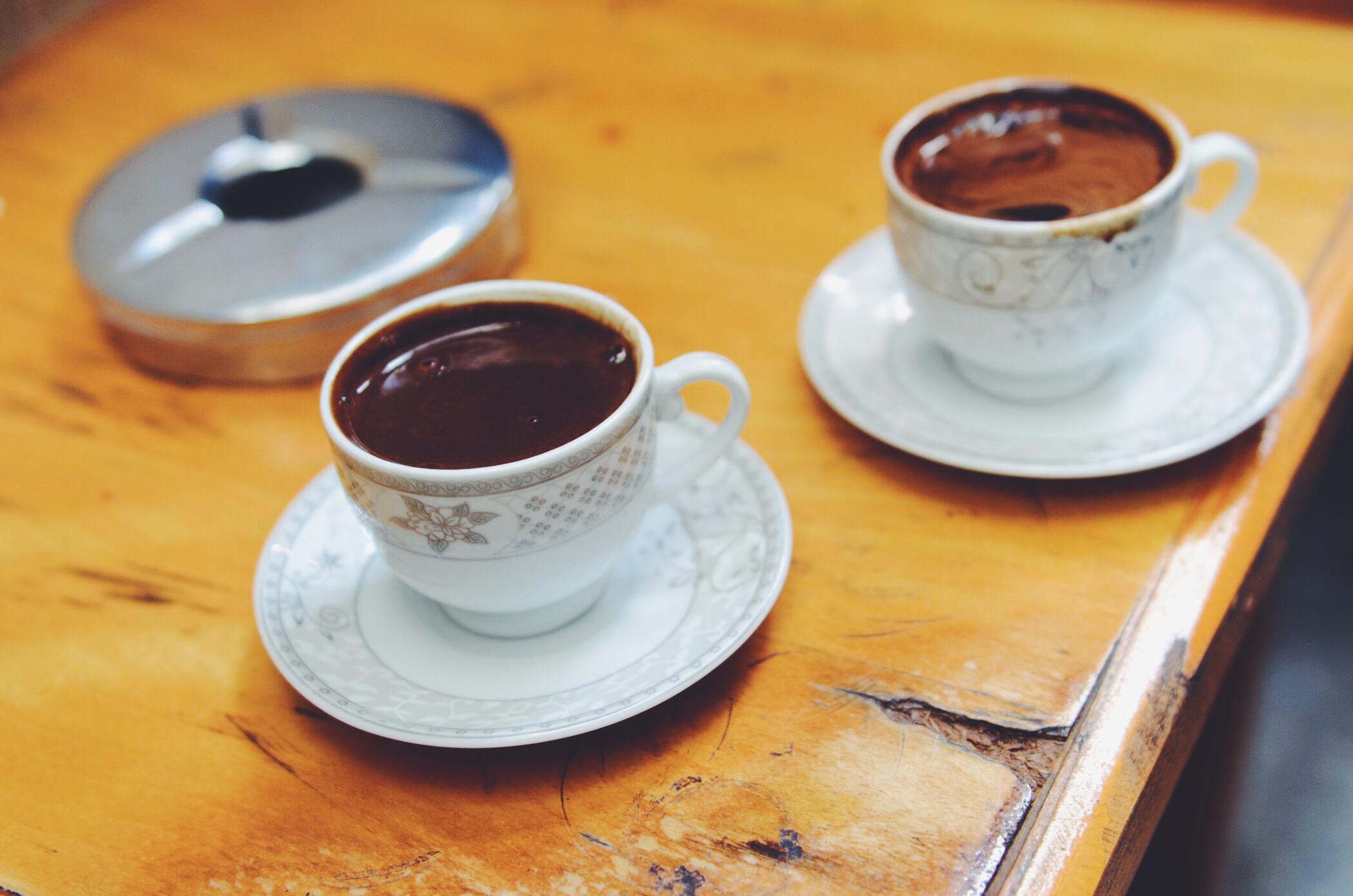 Street Art Istanbul Kaffee