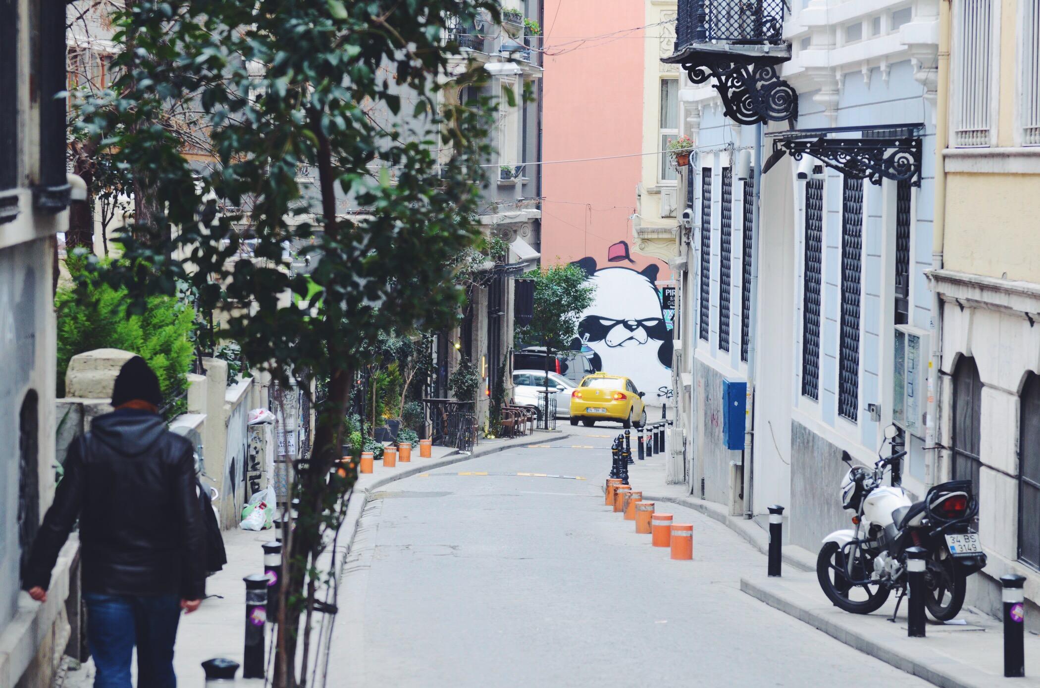 Panda Street Art Istanbul