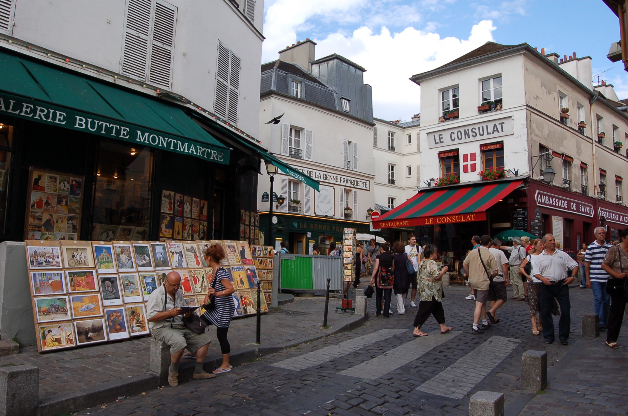 Ein Tag in Paris in Montmartre