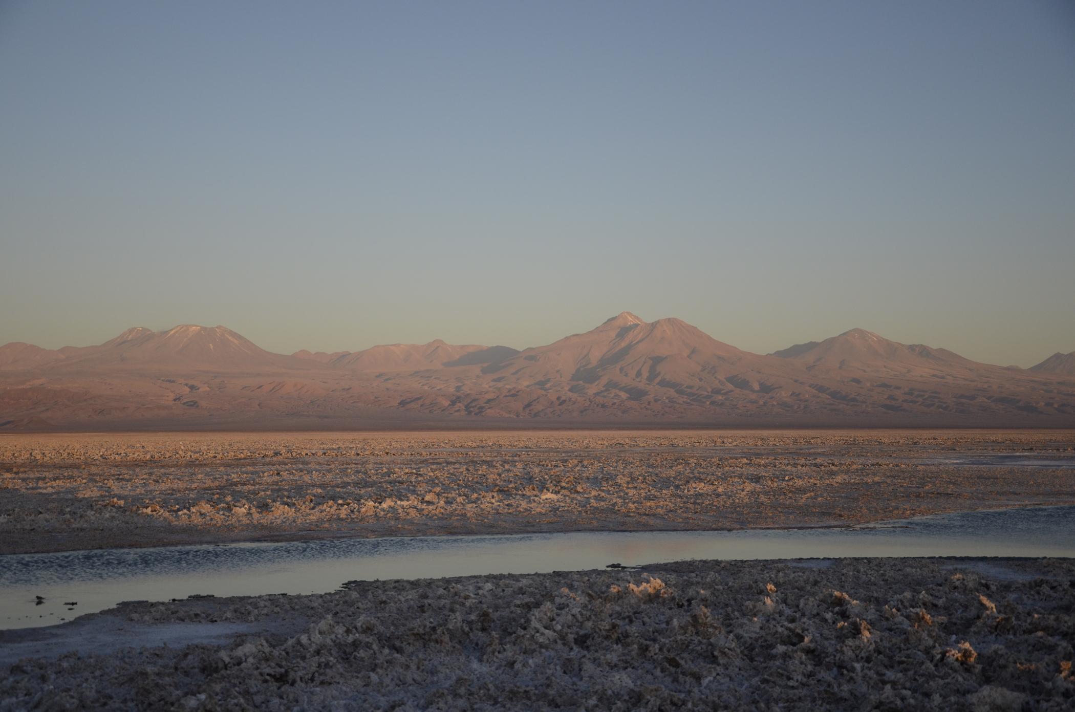 Sehenswürdigkeiten in Chile wie die Atacamawüste