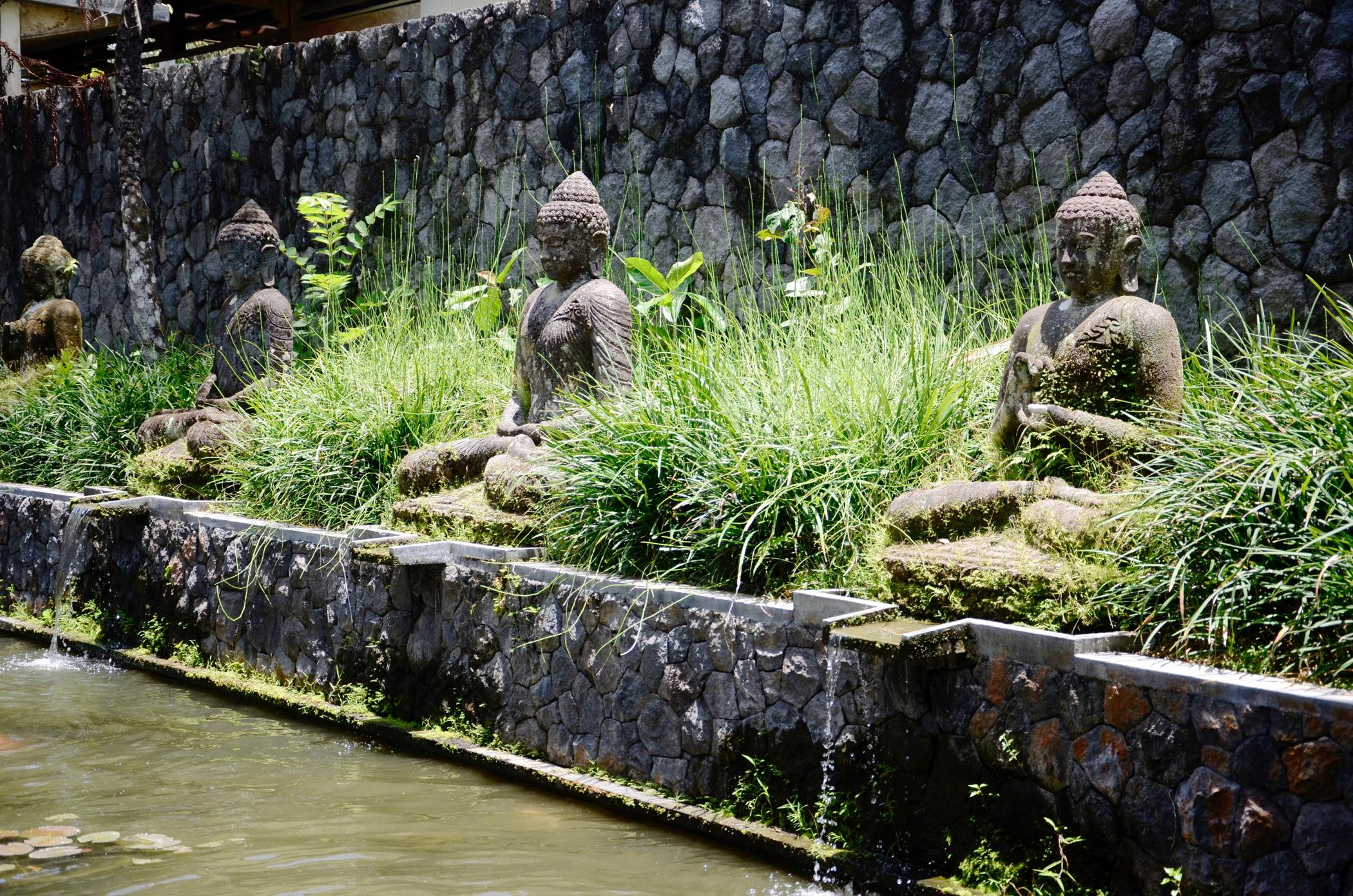 Buddha im Ubud Hotel Chapung Se Bali