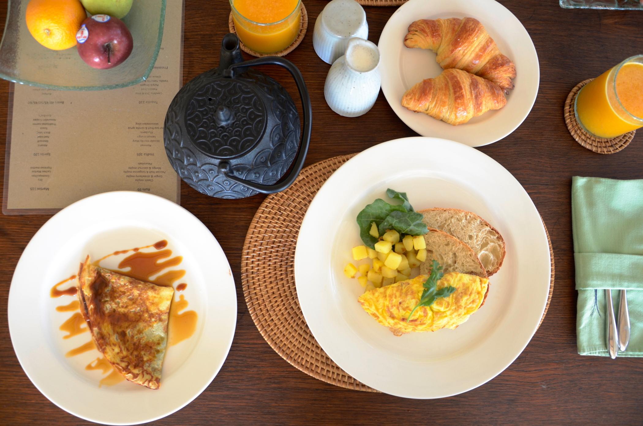 Breakfast at Ubud Hotel Chapung Se Bali