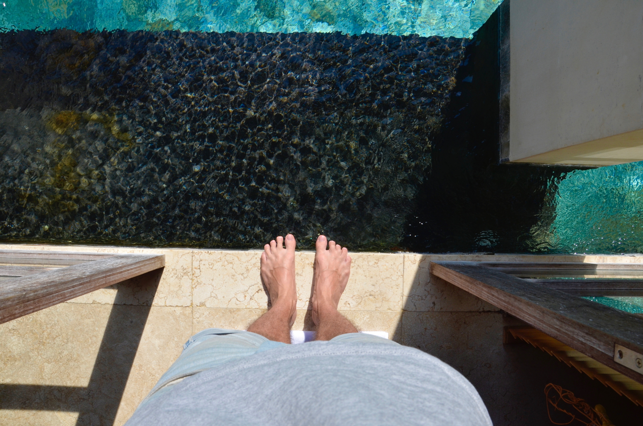 Private Pool im Ubud Hotel Chapung Se Bali