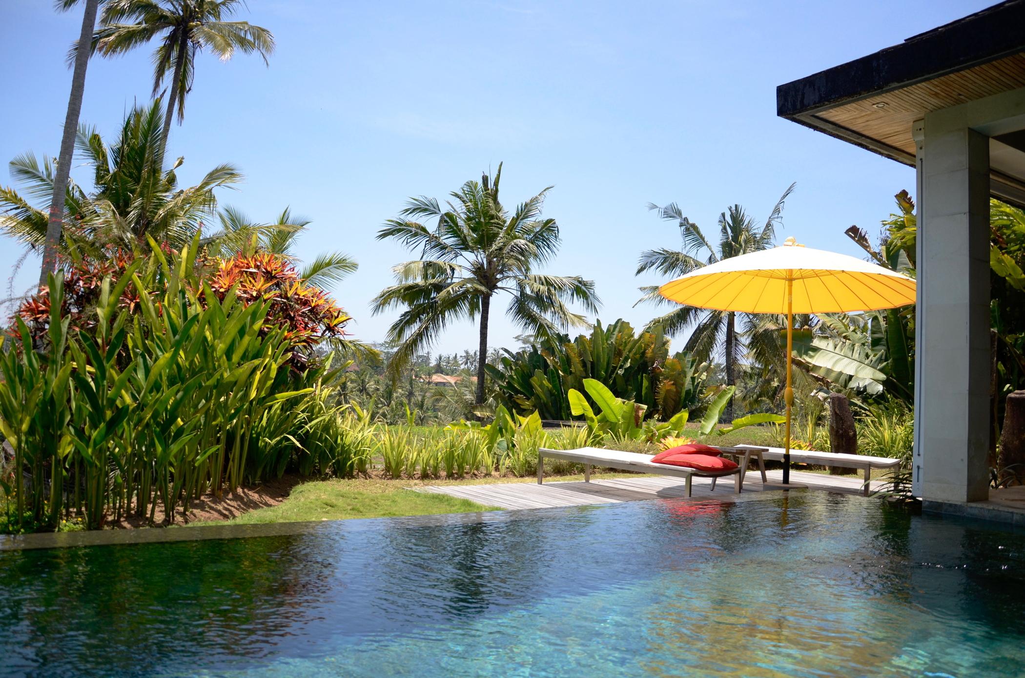 Privater Pool im Ubud Hotel Chapung Se Bali