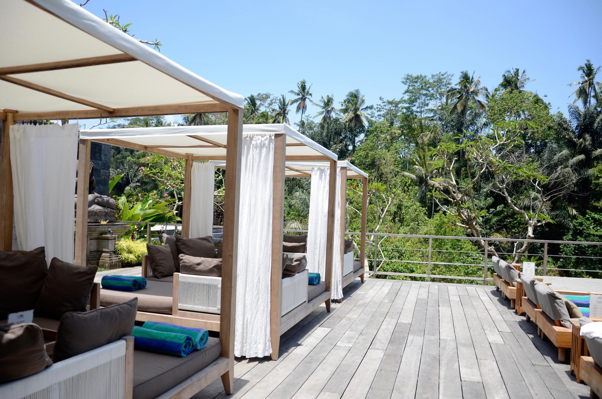 Am Pool im Ubud Hotel Chapung Se Bali