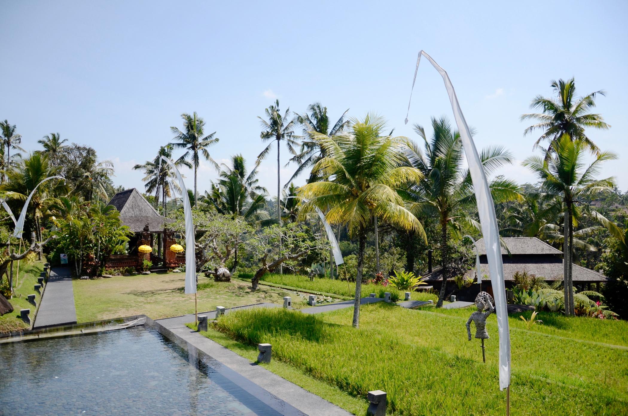 Die Anlage des Ubud Hotel Chapung Se Bali
