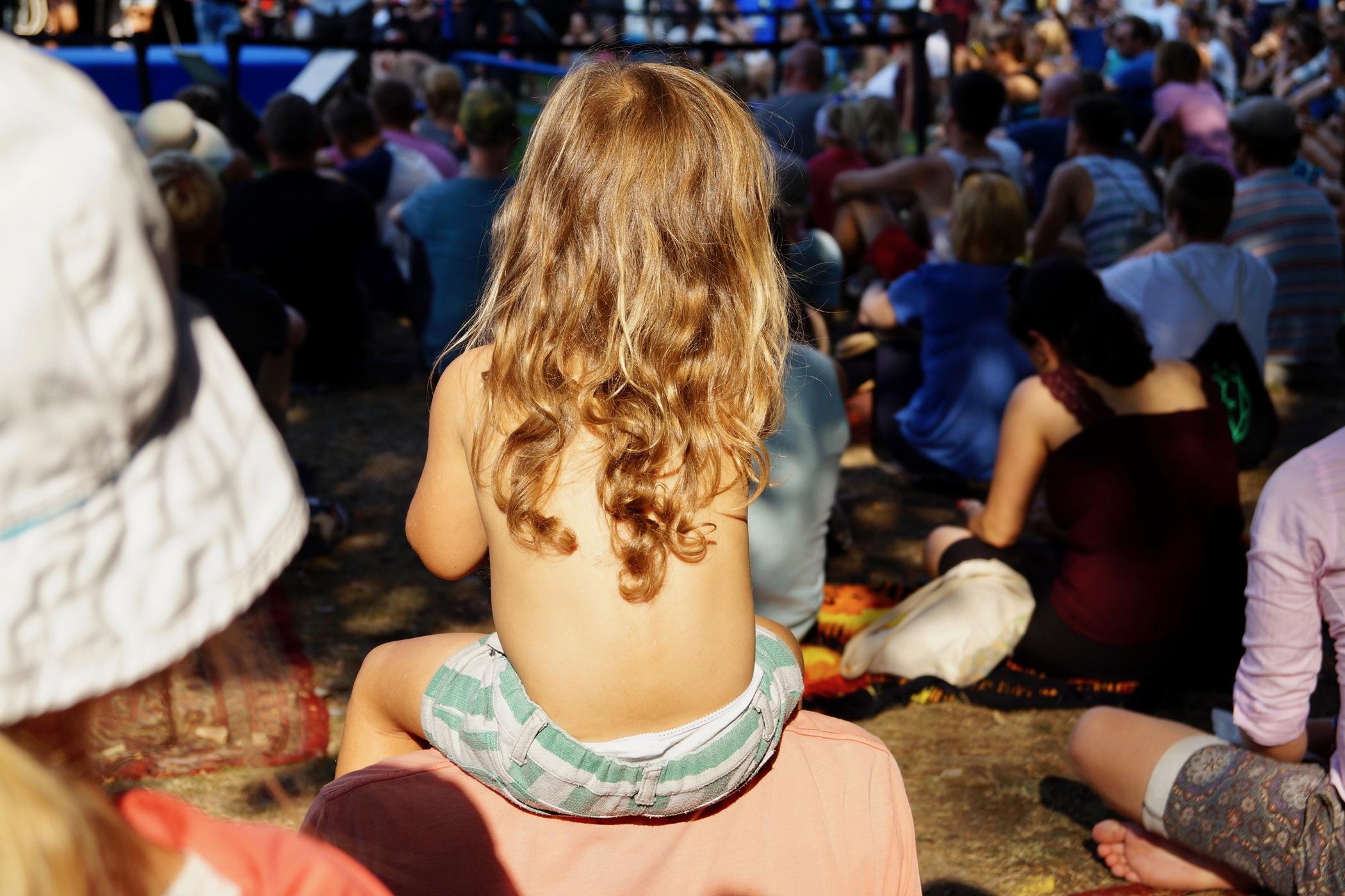 Besucher beim Lollapalooza Berlin