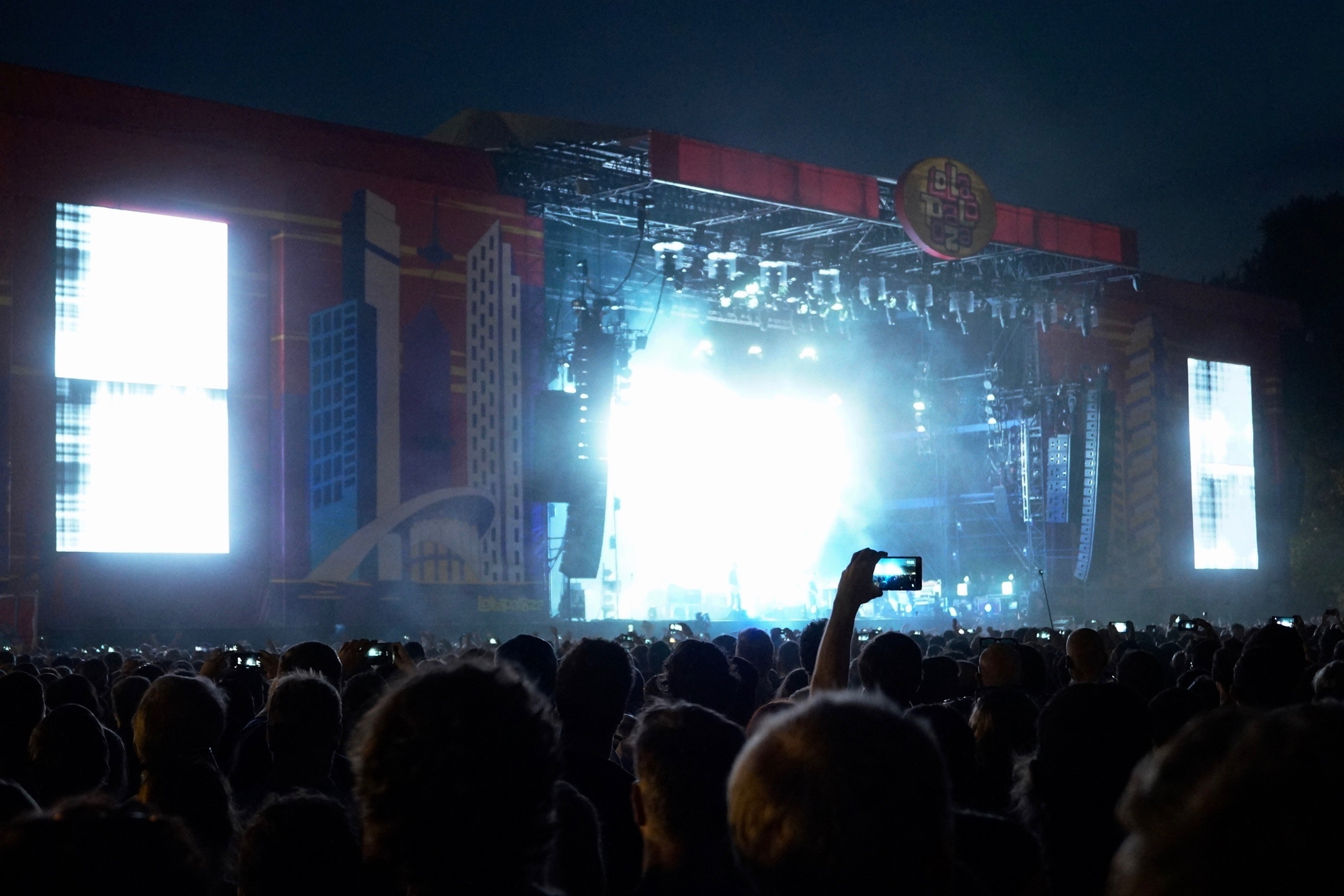 Radiohead beim Lollapalooza Berlin