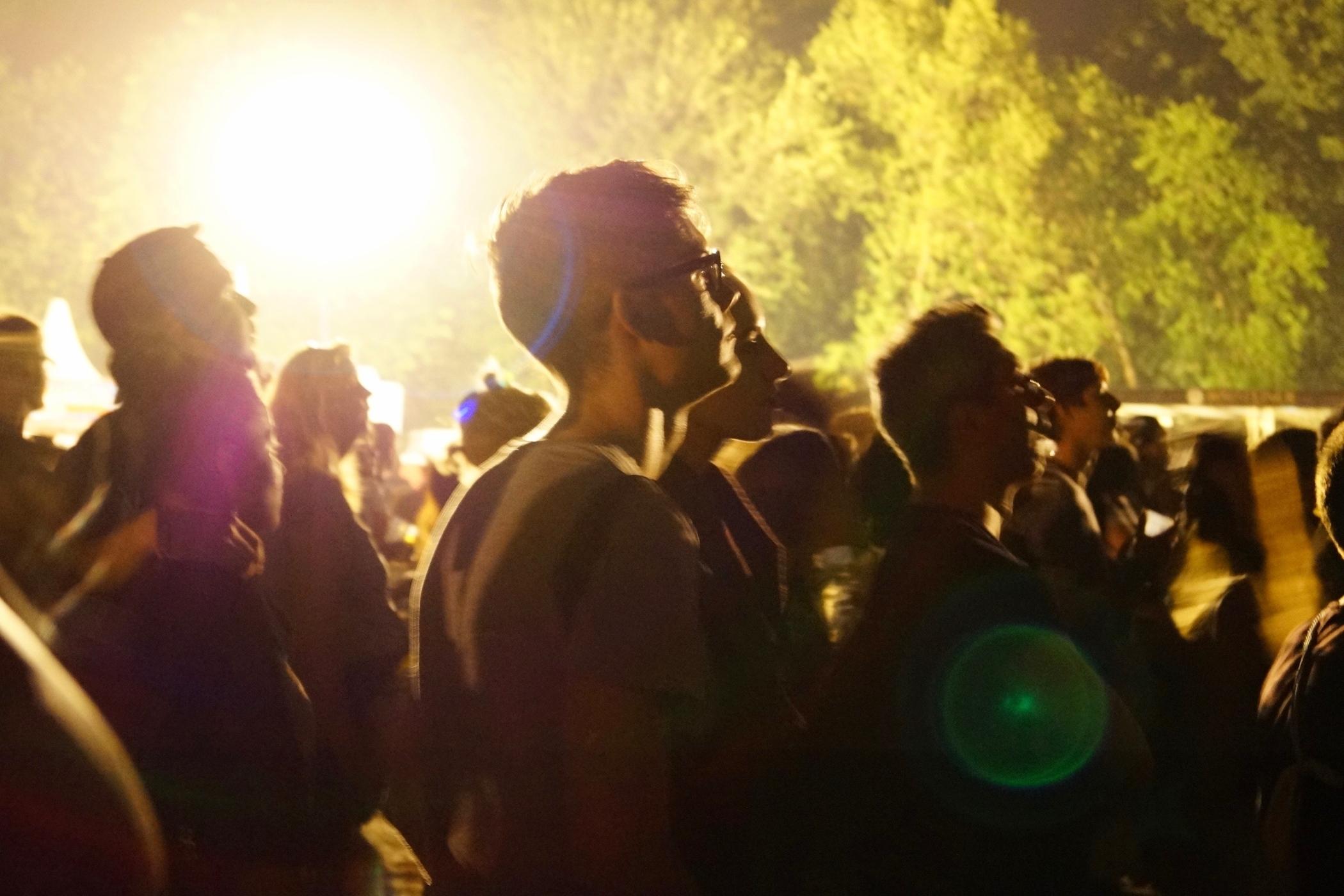 Zuschauer beim Lollapalooza Berlin