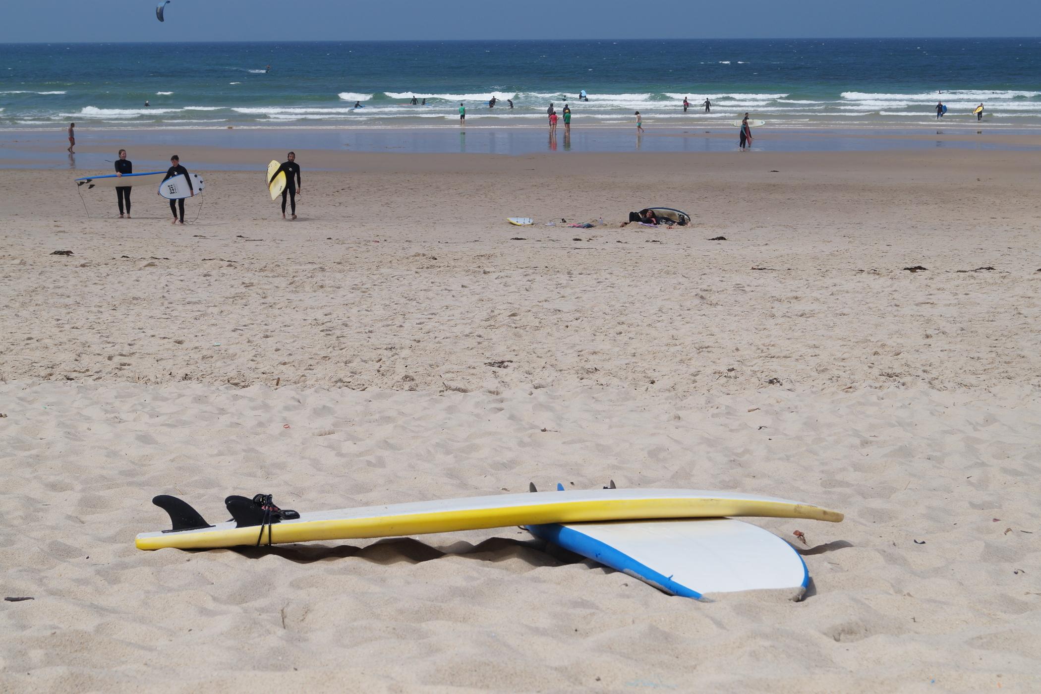 Surfguiding Peniche Surfbretter