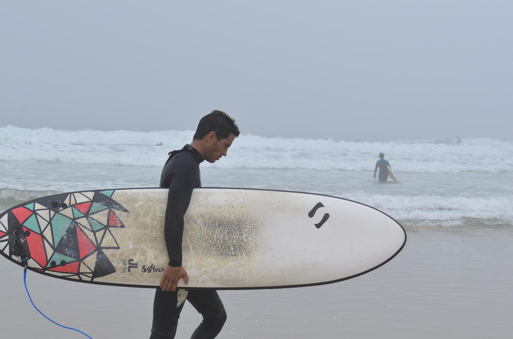 Surfguiding Peniche Surfer