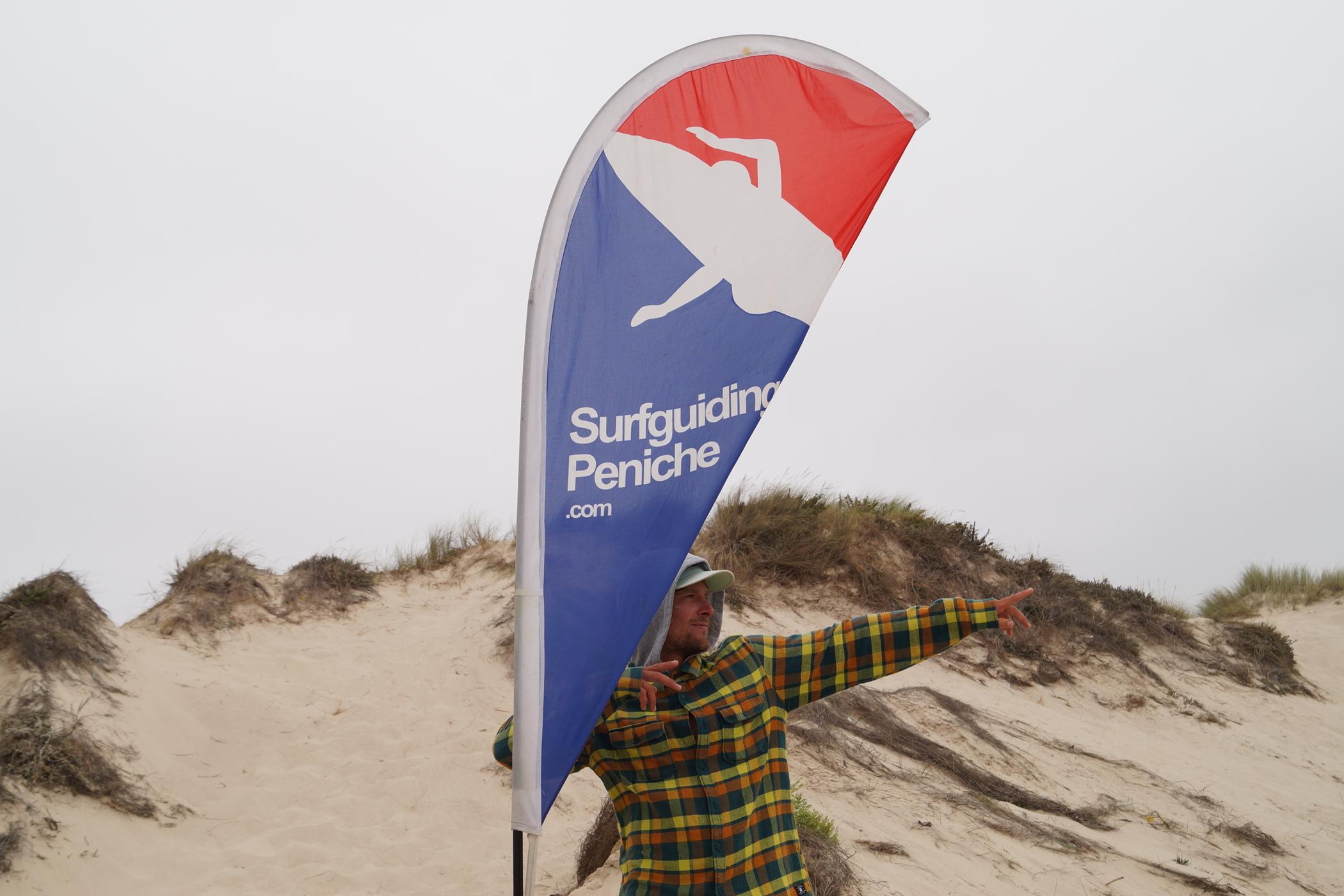 Surfguiding Peniche Surflehrer