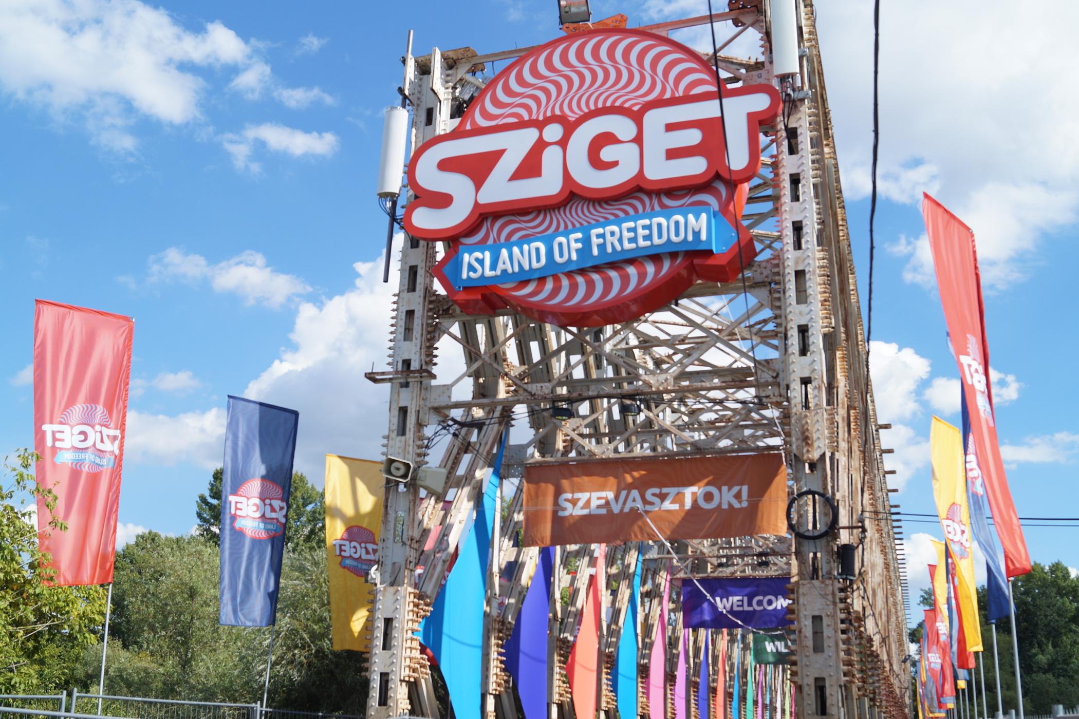Sziget Festival Budapest Island of Freedom