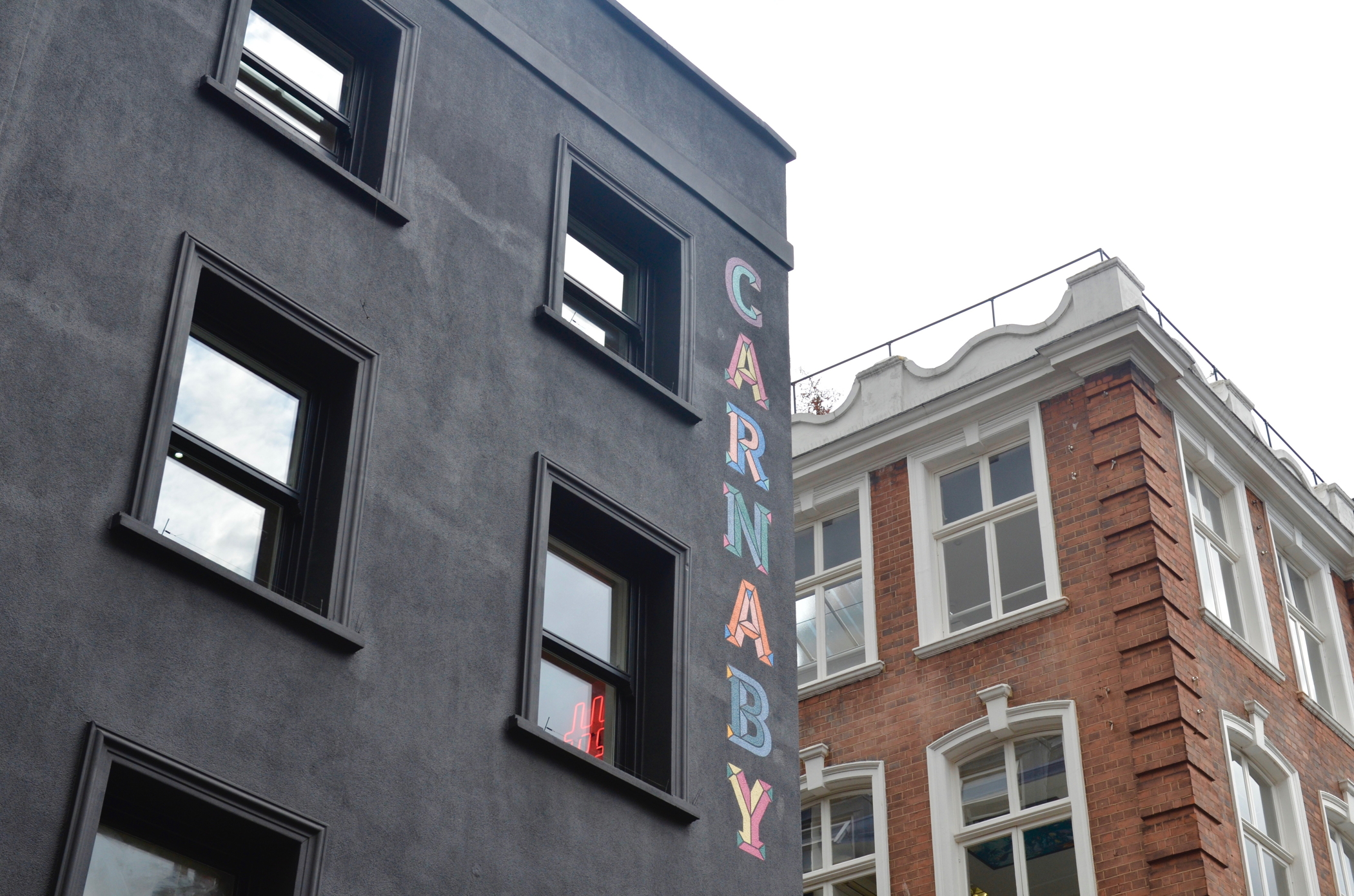 Die Carnaby Street im Swinging London von Soho