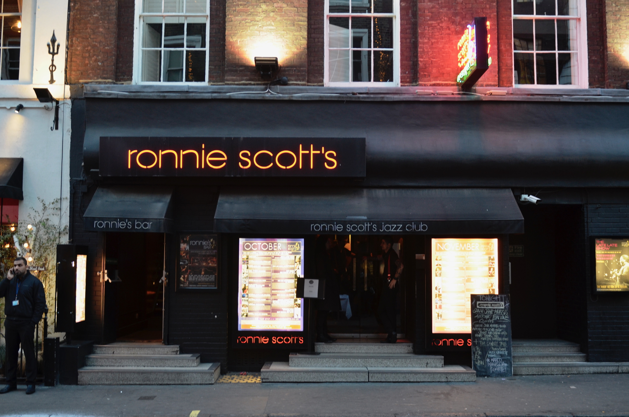Das Ronnie Scotts im Swinging London