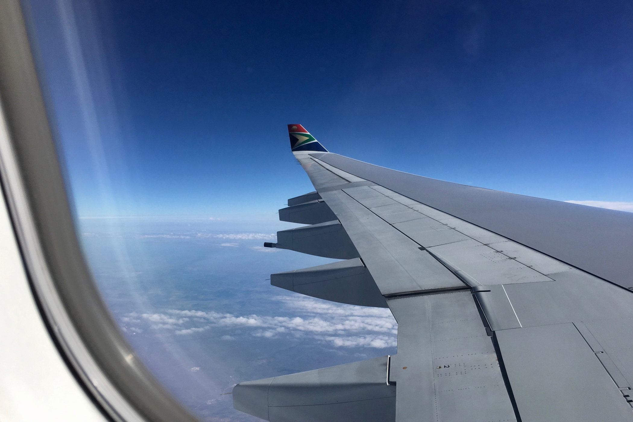 Jeder Südafrika Roadtrip beginnt mit einem Flug nach Südafrika
