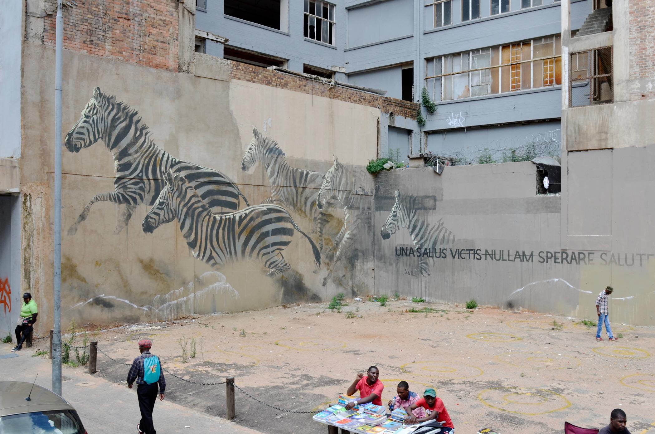 Auf einem Südafrika Roadtrip sieht man auch Johannesburg