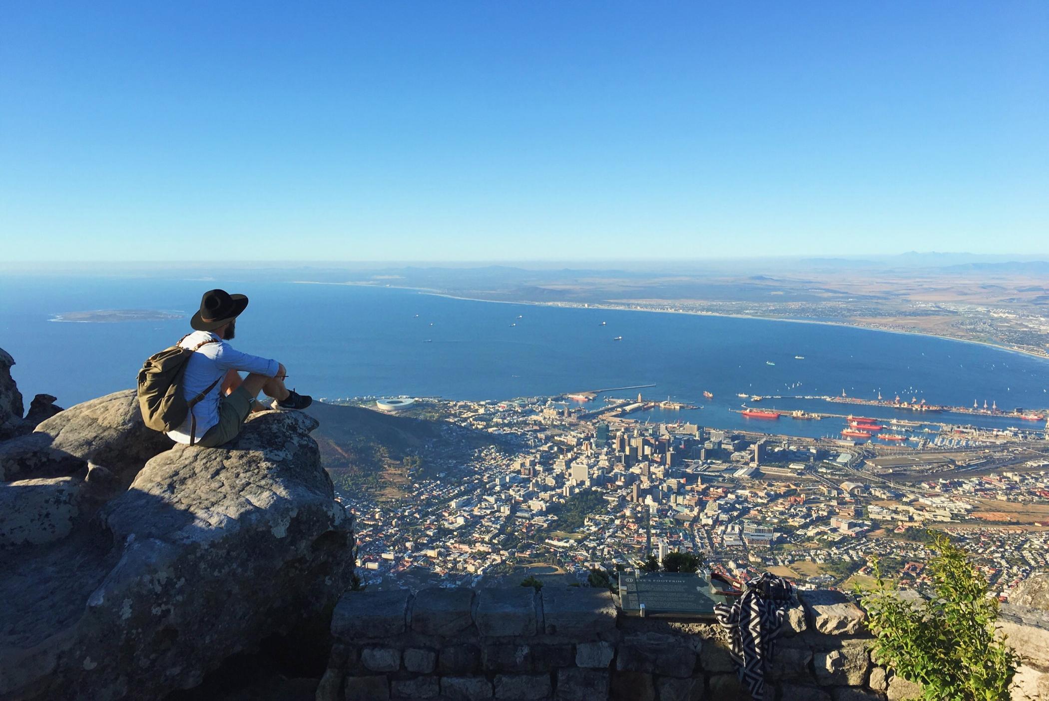 Kapstadt und der Tafelberg auf einem Südafrika Roadtrip