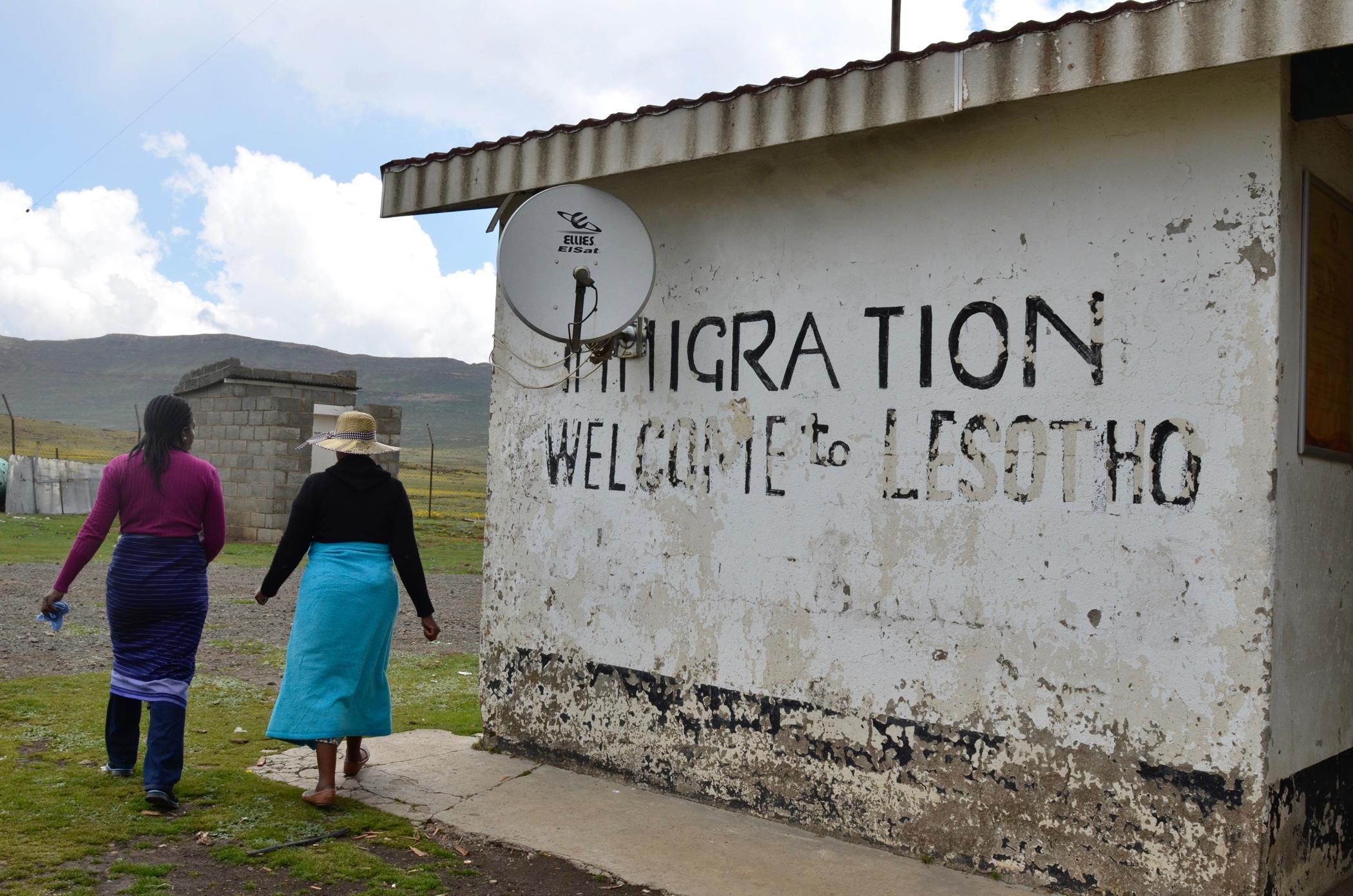 Ausflug nach Lesotho gehört zu einem Südafrika Roadtrip