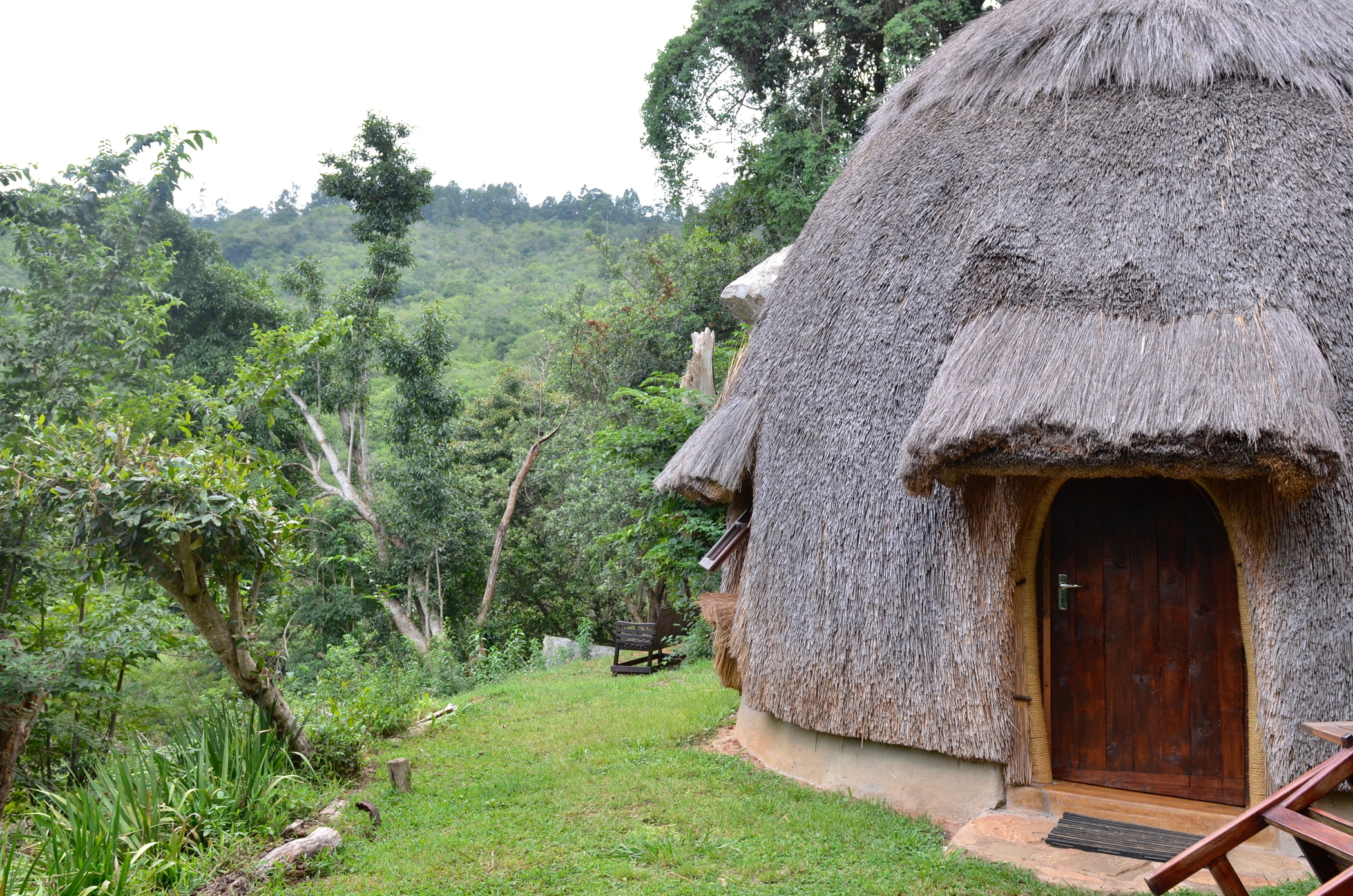 Die Häuser von Swasiland besucht man auf einem Südafrika Roadtrip