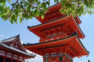 Kyotos Ruhe: Von Nachwuchsgeishas und saftig roten Pagoden