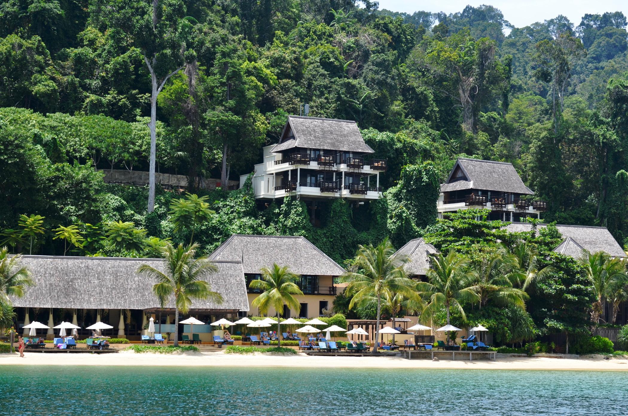 Großstadtdschungel-Malaysia-Gaya-Island-Resort-Villen