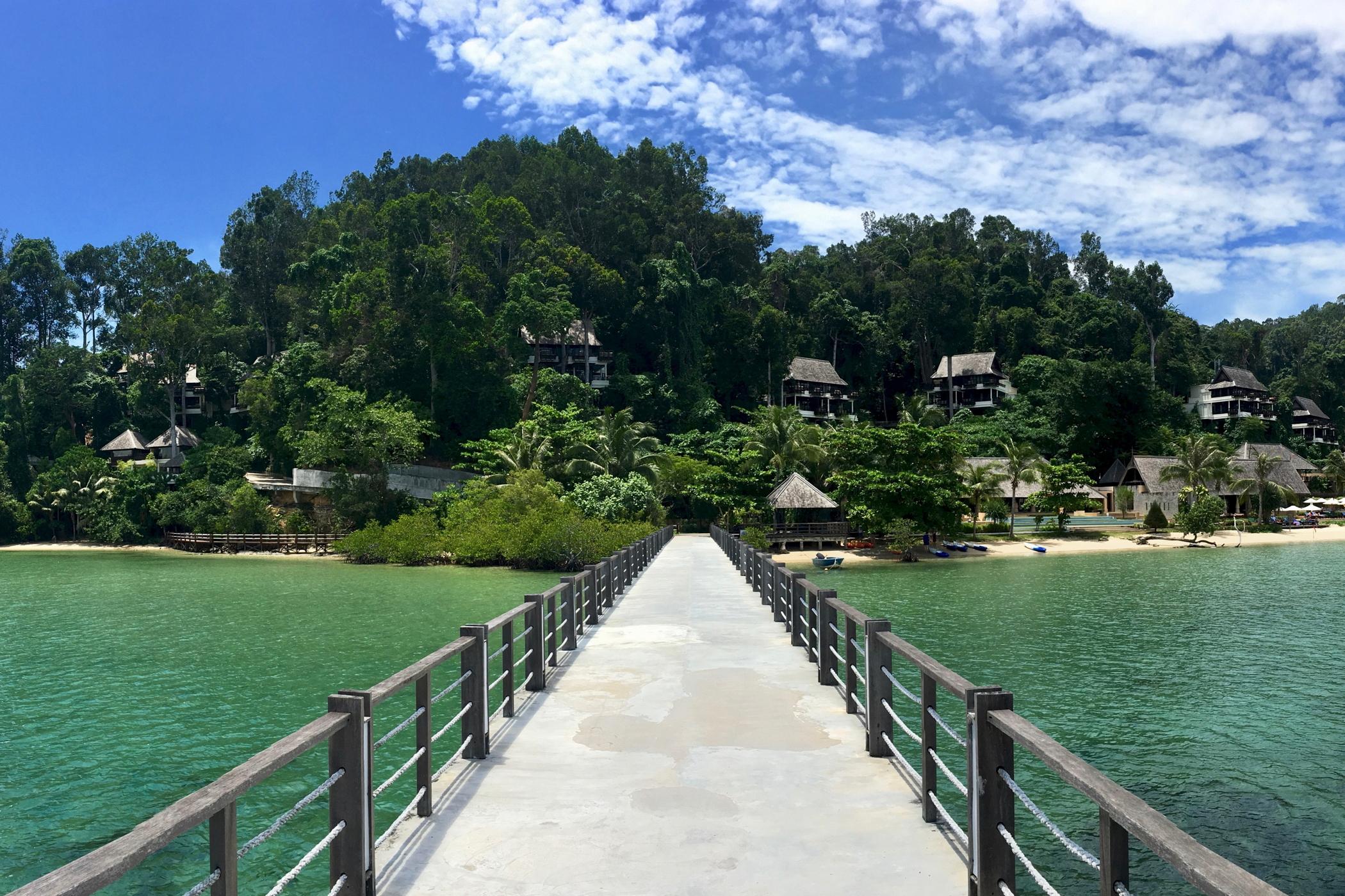 Großstadtdschungel-Malaysia-Gaya-Island-Resort