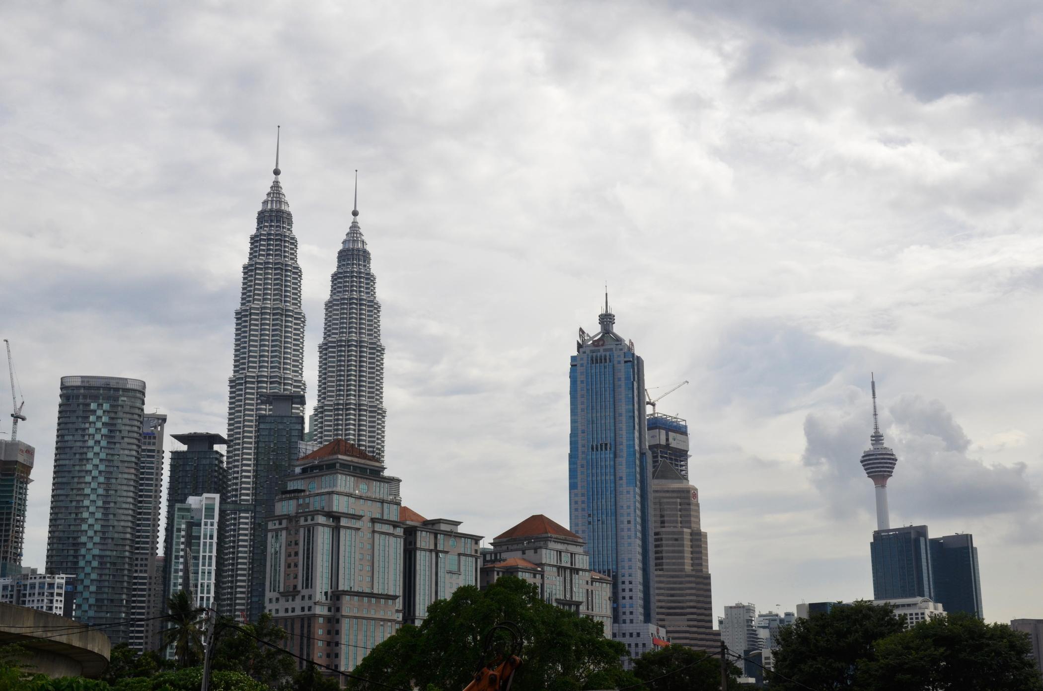 Großstadtdschungel-Malaysia-Kuala-Lumpur-Petronas-Towers-Aussicht