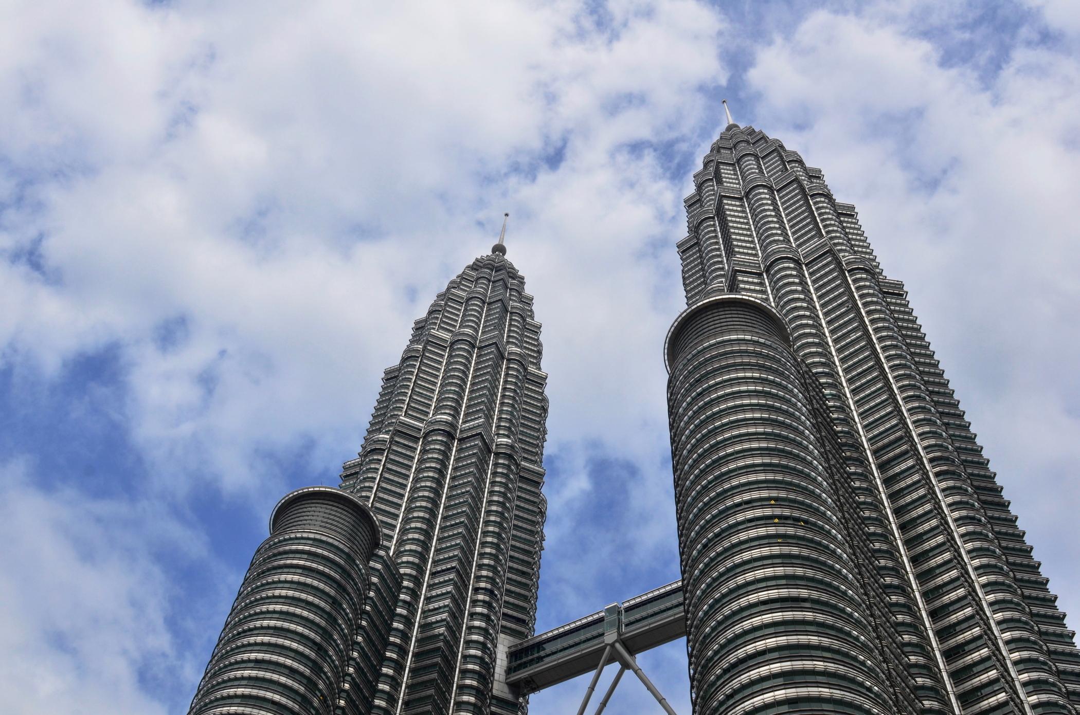 Großstadtdschungel-Malaysia-Kuala-Lumpur-Petronas-Towers