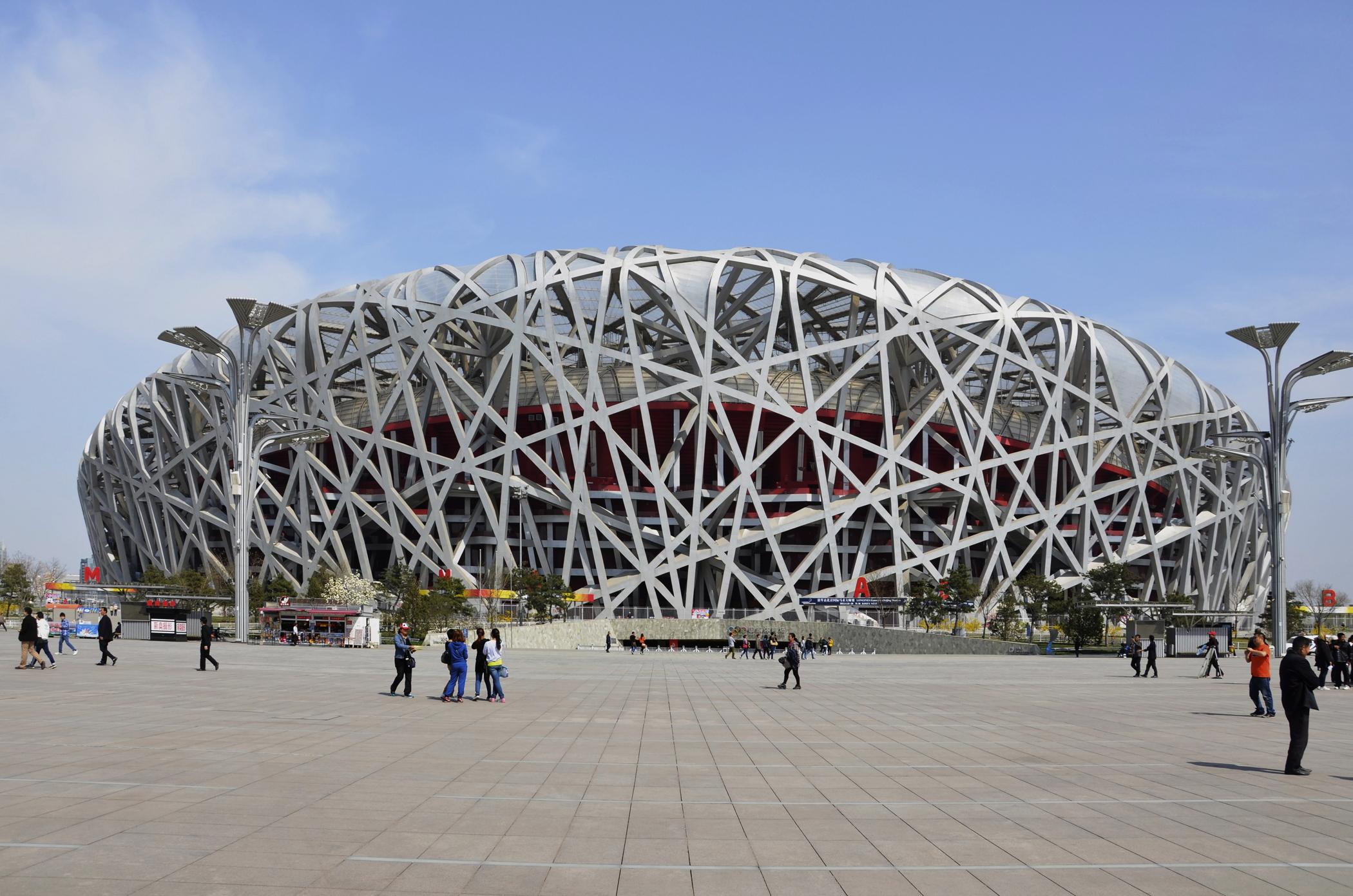 Modern-Beijing-Sehenswuerdigkeiten-Olympia-Peking-Vogelnest