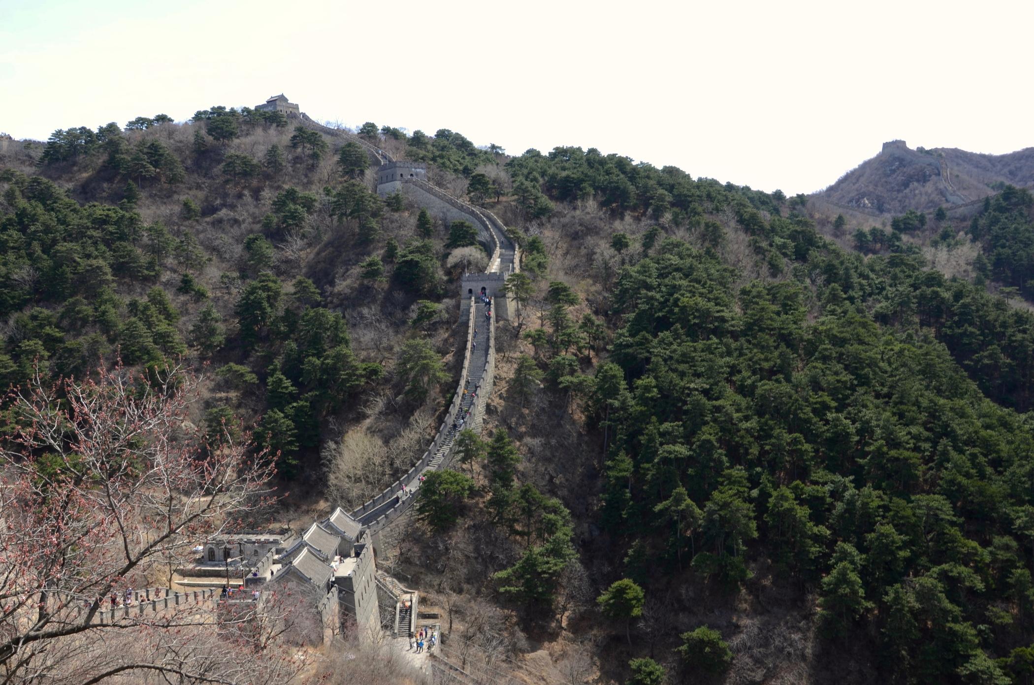 Peking-Sehenswuerdigkeiten-Chinesische-Mauer